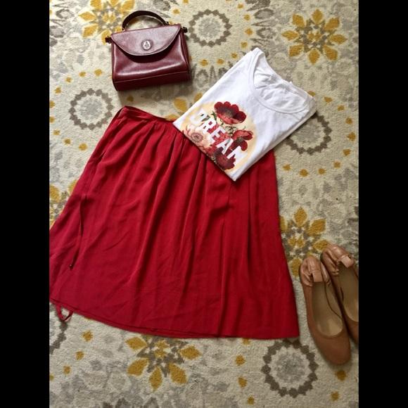 Dresses & Skirts - Akris Punto Silk Skirt